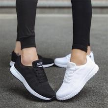Flat Walking Mesh Women Sneakers Shoe