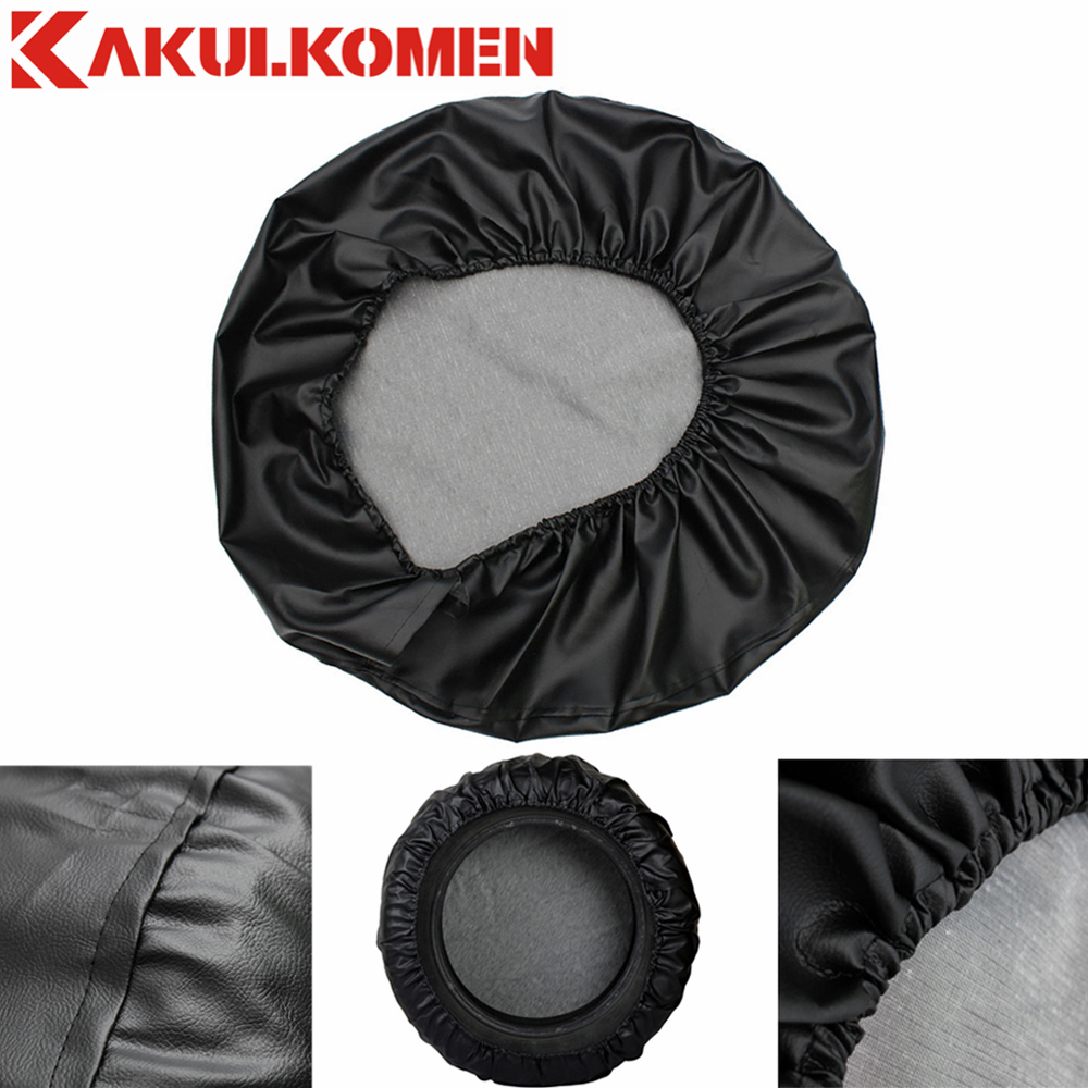 14 15 16 17 Inch PVC Leather Spare Wheel Tire Cover Protector Case For Jeep Grand Cherokee Renegade Compass Patriot Cherokee