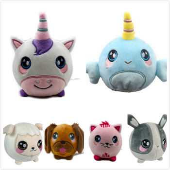 3.5'' Super Squishy Foamed Stuffed Animal Squeezable, Soft, Adorable Squishy pu foamed ball Stuffed Animal  child toy