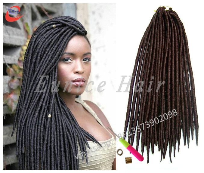 Synthetic dreadlocks faux locs african crochet braiding hair synthetic dreadlocks faux locs african crochet braiding hair extensionsfake hair braids curly top selling 613 single braids on aliexpress alibaba pmusecretfo Choice Image