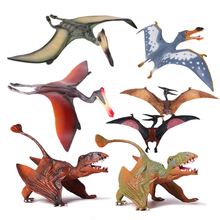 hot deal buy action&toy figures jurassic 7 styles pterosauria dragon dinosaur pvc toys collection model plastic doll animal for kids gift