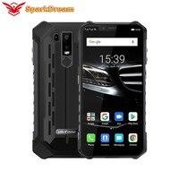Ulefone Armor 6E IP68 Waterproof Shockproof Mobile Phone Helio P70 4GB+64GB 6.2 19:9 FHD+ 5000mAh Android 9.0 NFC Face Unlock