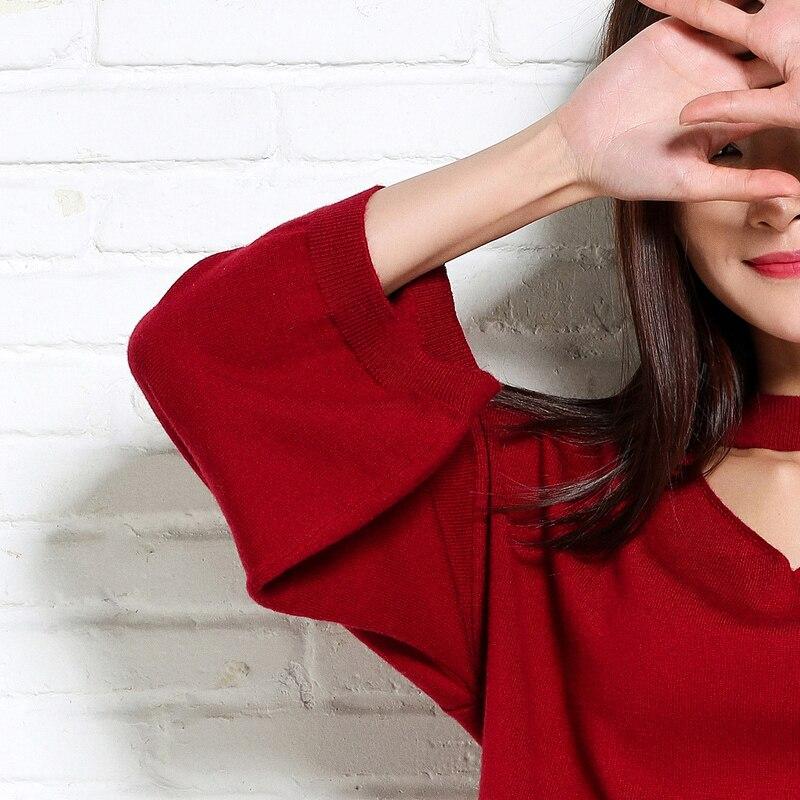 adohon 2018 Womens Winter Cashmere Pullover und Tante Mun Frauen - Damenbekleidung - Foto 5