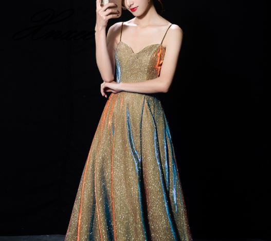 2019 Women's New Party Party Dress Elegant Sling Dress-in Dresses from Women's Clothing    2
