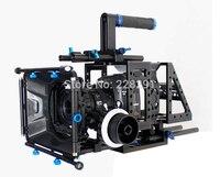 DSLR Upper Handle Rig Camera Kits Movie Cage Video Shoulder Mount Rod Stabilizer With Matte Box