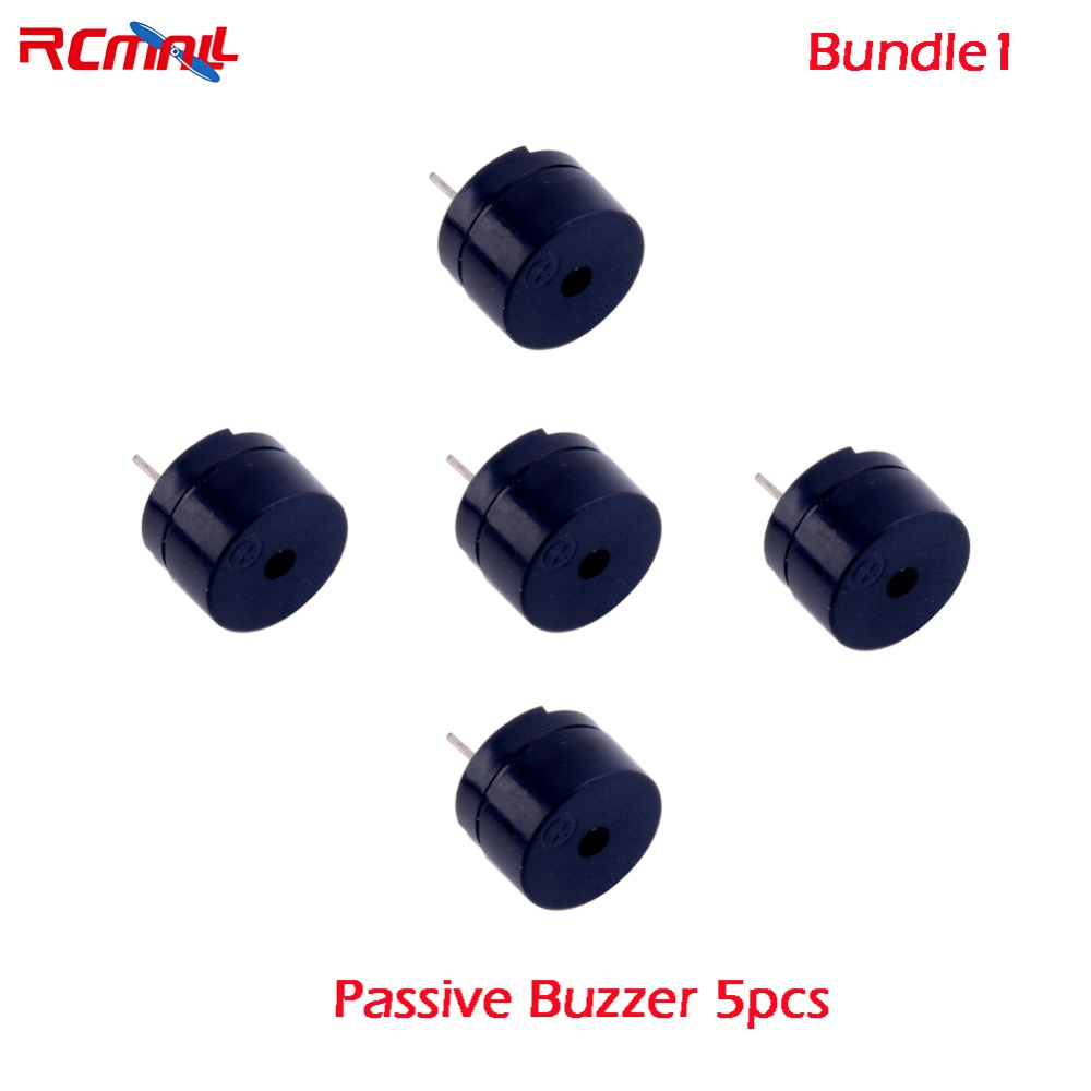 RCmall 5/10pcs Passive Buzzer For Arduino 5V 16 Ohms FZ0669P