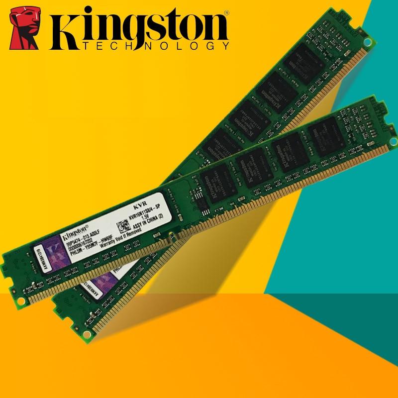 Kingston Desktop PC Memory RAM Memoria Module DDR2 800 PC2 6400 PC3 5300 4GB (2PCS*2GB) Compatible DDR2 800MHz 667MHz DDR 2 800