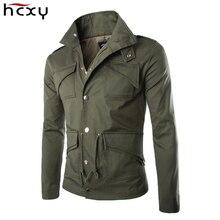 2016 de alta calidad de algodón militar chaqueta comercial temperamento Delgado de gran tamaño con estilo Británico para hombre de las chaquetas del ejército