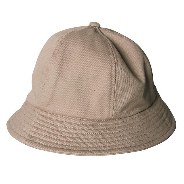 d1ebd4d68b878f Sunscreen Bucket Hat Sun Cap For Women Summer 2017 Canvas Khaki/Black/White  Solid