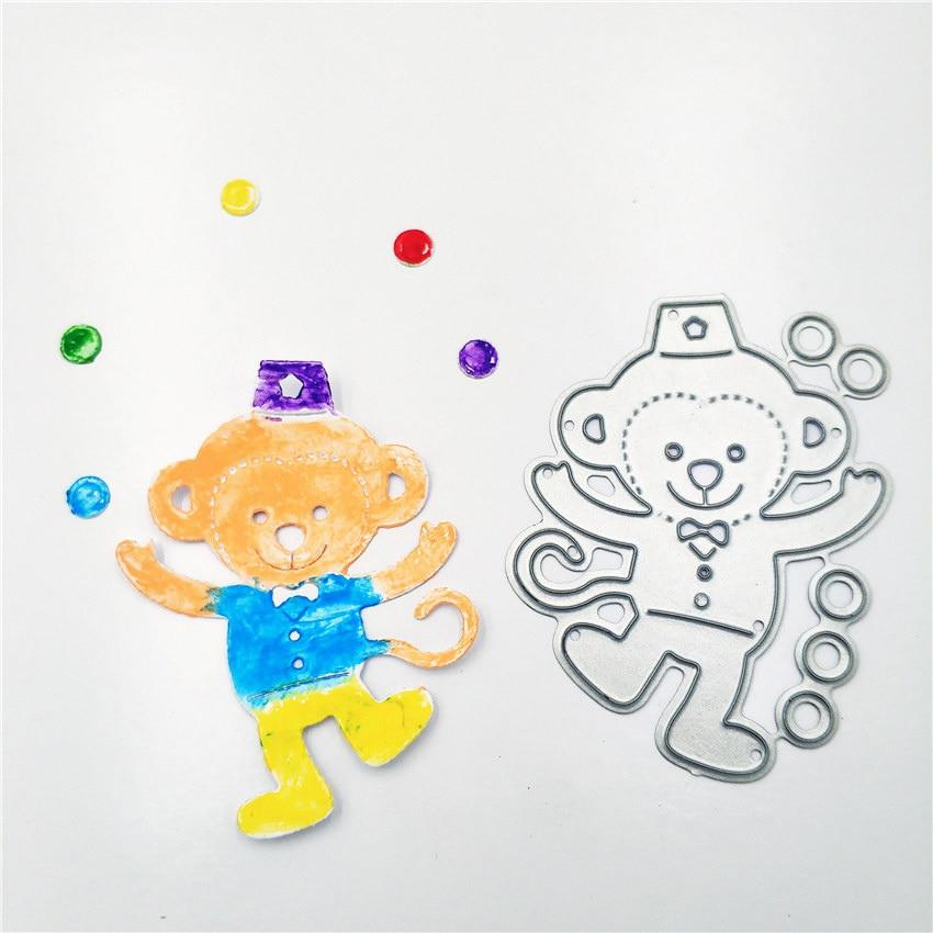 12 Pcs Kawaii Cute Wooden Mini Small Clip Little Monkey Clover Photo Paper Postcard Craft Diy Clips With Hemp Rope Office Supply Office & School Supplies Office Binding Supplies
