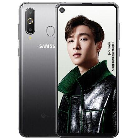 Samsung Galaxy A8s 6.4 Pouces FHD Smartphone Trois Arrière Caméras 3400 mAh 6 GB 128 GB Snapdragon 710 Otca base NFC Android Téléphone Portable