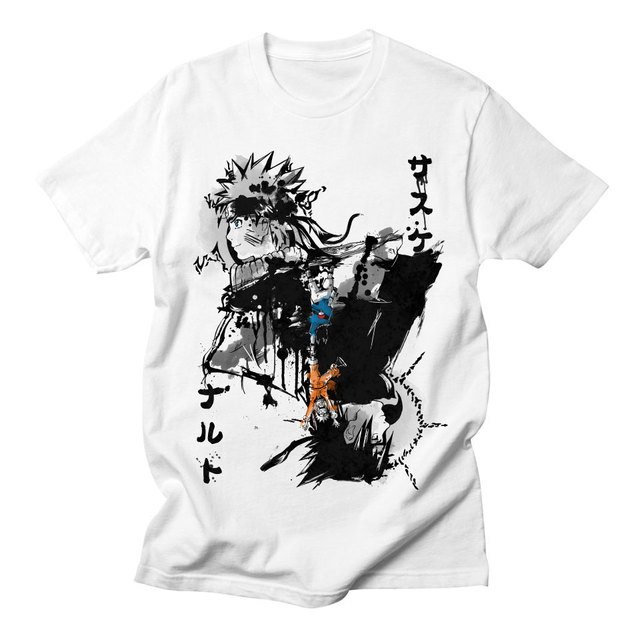 NARUTO TEAM 7 T-SHIRT (2 VARIAN)