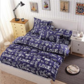 2017 housse de couette Character Duvet Cover For Child Bedding Set King Queen Size Polyester Cotton Bedsheet