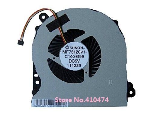 Novo ventilador de refrigeração da cpu para asus r700v k75vm k75a k75 r700 k75d ventilador cpu mf75120v1-c140-g99 frete grátis