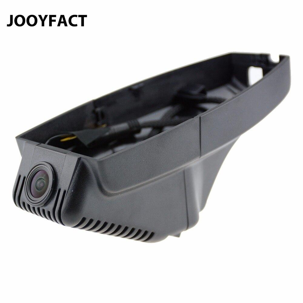 JOOYFACT A1 Auto DVR Registrator Dash Cam Video Recorder Notte 1080 p Novatek 96658 IMX323 WiFi Fit per Le Automobili BMW f25 E46 E90