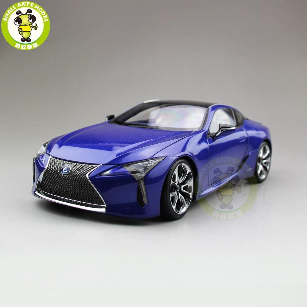 Oyuncaklar ve Hobi Ürünleri'ten Pres Döküm ve Oyuncak Araçlar'de 1/18 LC 500h yarış spor araba pres döküm model araba oyuncaklar çocuklar için hobi koleksiyonu hediye mavi renk'da  Grup 1