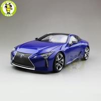 1/18 Toyota Lexus LC 500 h гоночный спортивный автомобиль литой модельный автомобиль игрушки для детей коллекция хобби подарок синий цвет