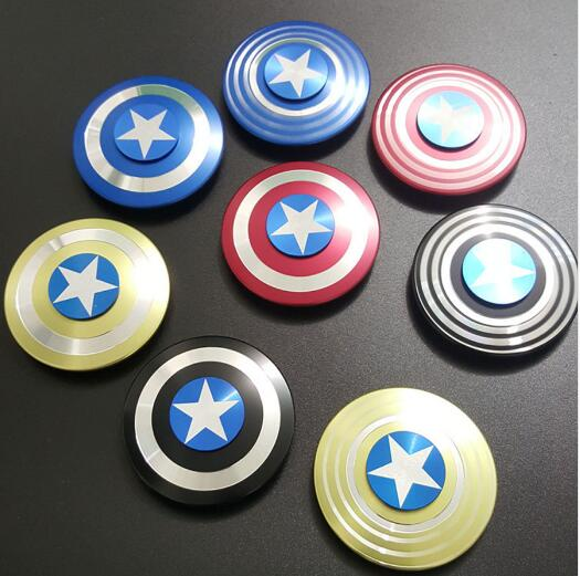 NEWThe Avengers Captain America Shield Finger Spinner Hand Fidget Spinner and Fidget Toys Metal Aluminum Figet Spiner Figet ToysNEWThe Avengers Captain America Shield Finger Spinner Hand Fidget Spinner and Fidget Toys Metal Aluminum Figet Spiner Figet Toys