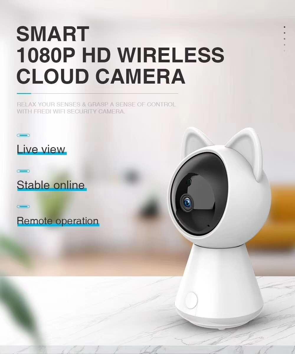 2MP 1080P Cloud Storage  IR Night Vision Motion Detection IP Camera2MP 1080P Cloud Storage  IR Night Vision Motion Detection IP Camera