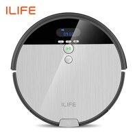 ILIFE V8s odkurzacz robot zamiatać i mop do mycia na mokro nawigacja planowane czyszczenie 0.75L kosz na śmieci zbiornik na wodę regulowany harmonogram gospodarstwa domowego w Odkurzacze od AGD na