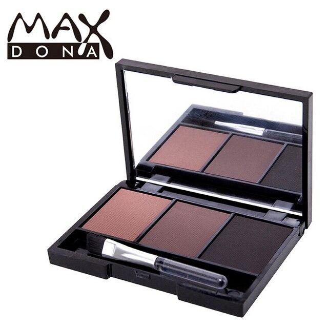eyebrow shadow. professional eye brow makeup waterproof glitter and shimmer eyebrow powder palette shadow make up set