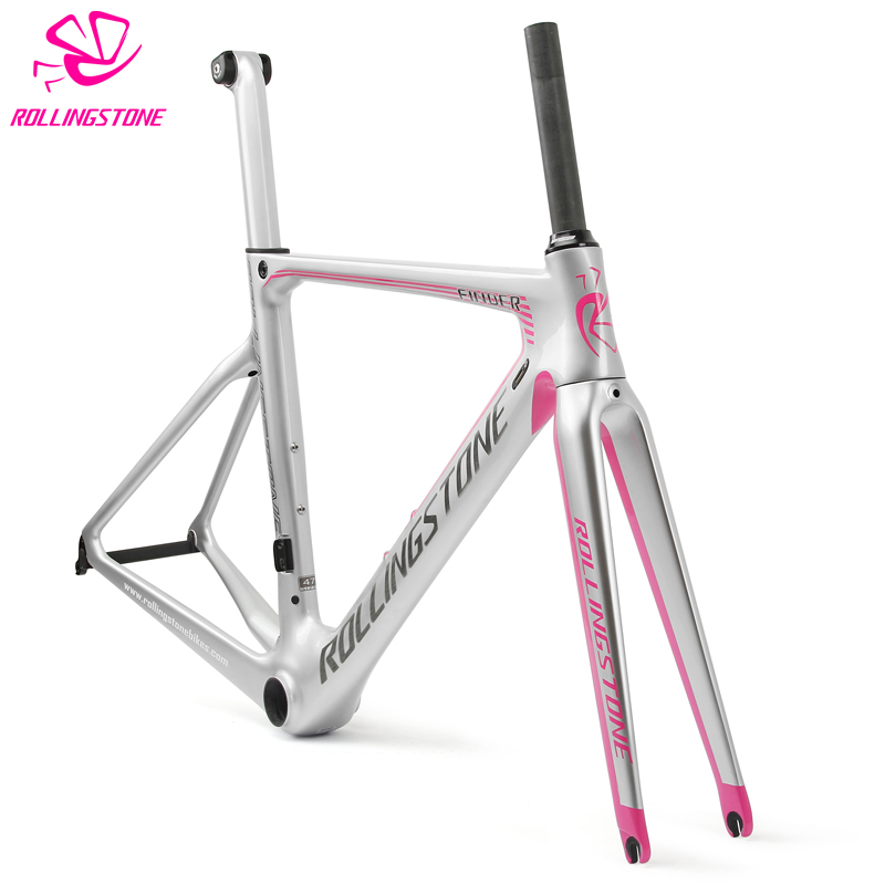 ROLLING STONE FINDER UCI Approved Road Carbon Frame set Aero road frame breaking wind 45 47 50 52 54cm шины haifulai 215 225 235 245 31 265 10 5 70 75 65r15 16 17