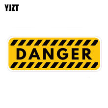 Yjzt 16.8cm * 6cm decalque de aviso de perigo, adesivo de carro de pvc 12-0386