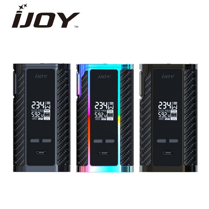 Original 234W IJOY Captain PD270 TC BOX MOD Powered By Dual 20700 Battery NI/TI/SS Temp Control 6000mAh E-cig BatteryVape Mod new original 234w ijoy captain pd270 tc box mod w 6000mah battery powered by dual 20700 18650 battery vape box mod vs drag mod