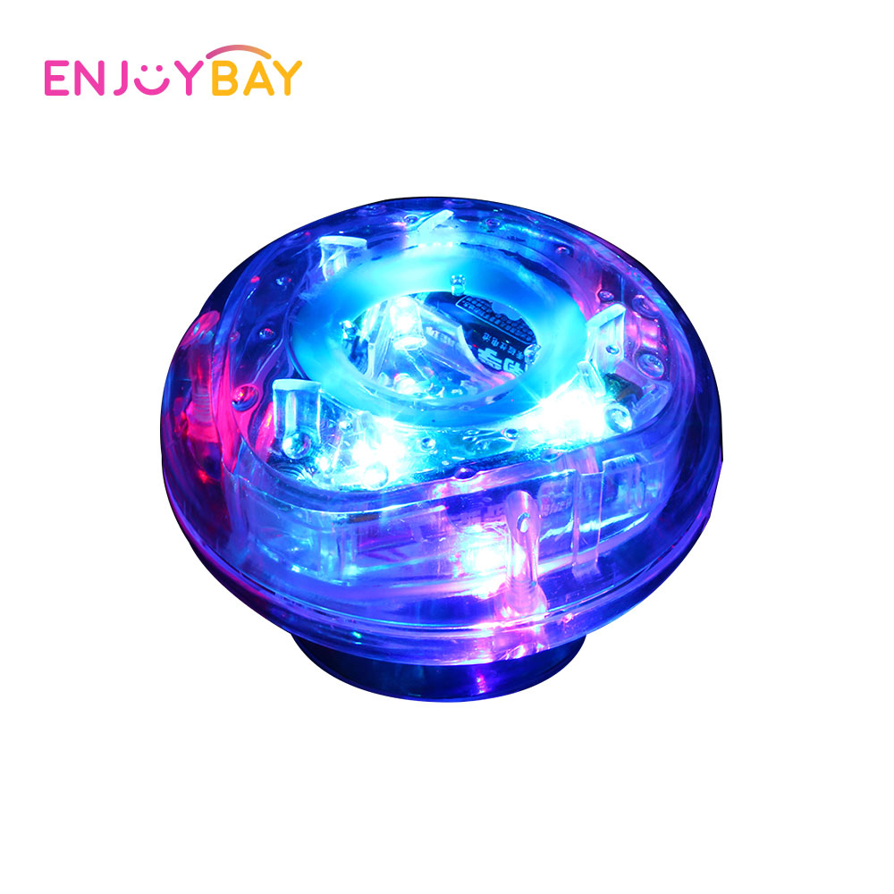 Enjoybay LED Light Bath Toys Colorful Glow Show Swimming Pool Tub Spa Bathroom Toy Water Floating Underwater Children Lamp Toys