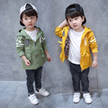 Boutique baby boys coats and jackets Cotton 100% New Arrival 2017 kids clothes hooded outerwear korean High quality designer