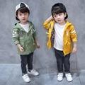 Boutique do bebê meninos casacos e jaquetas De Algodão 100% meninos Nova Chegada 2017 crianças roupas casacos com capuz coreano designer de Alta qualidade