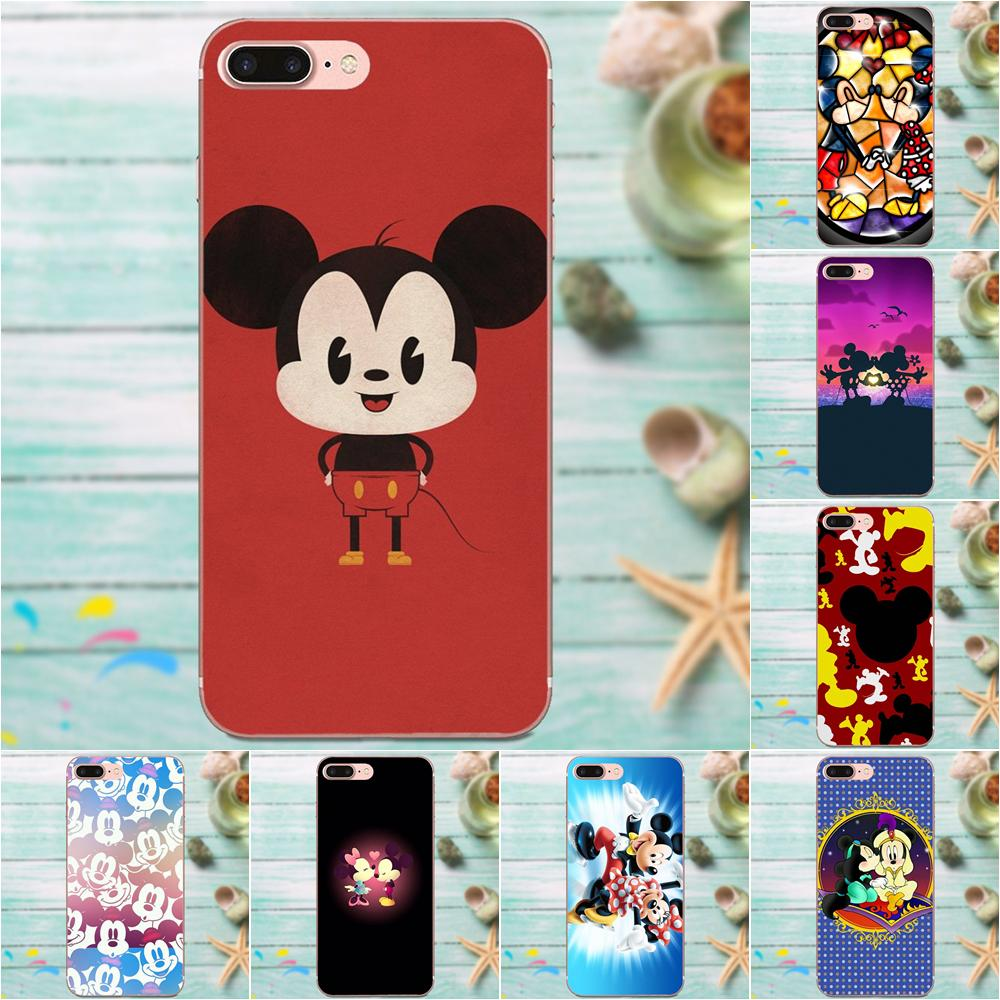 Stained Glass Mickei And Minni Soft Cover For LG Nexus 5 5X G2 G3 mini spirit G4 G5 G6 K4 K7 K8 K10 2017 V10 V20 V30 Stylus