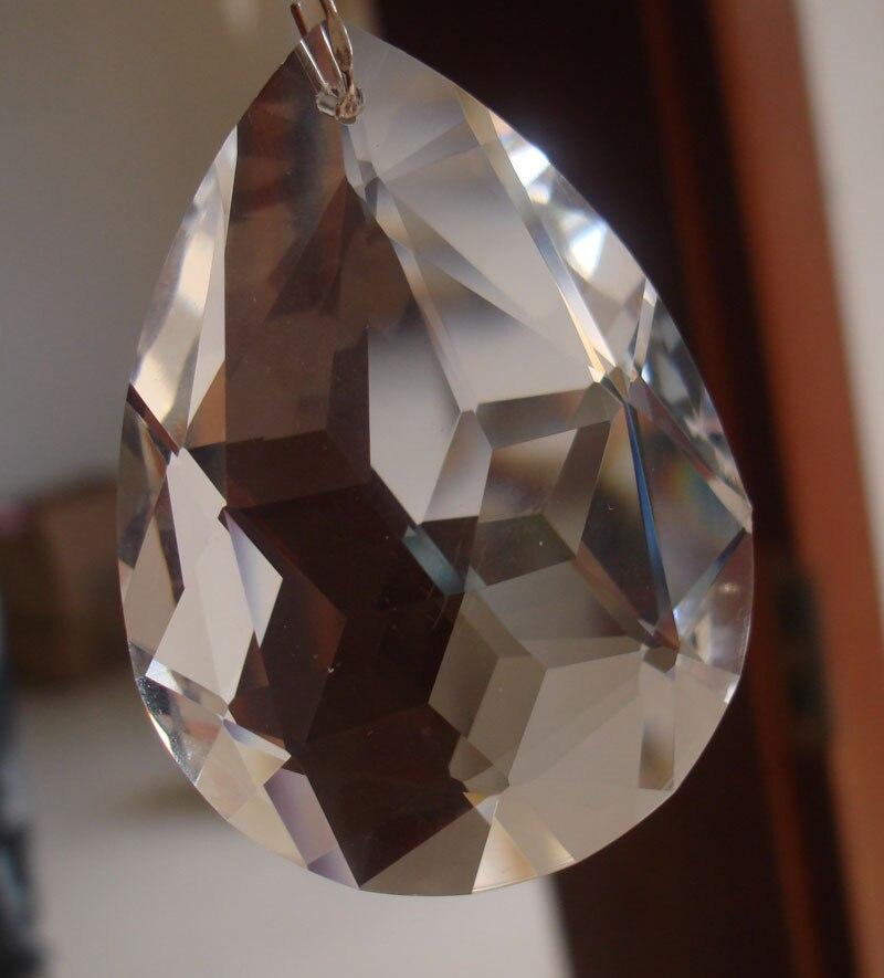 40pcs lot 76mm crystal chandelier pendant K9 crystal chandelier part ornament crystal prism free shipping
