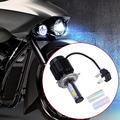 2016 New Crystal Clear Headlight H4 40W LED Light Bulb Headlamp For Motorcycle