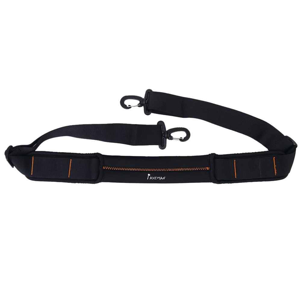Non-slip Shock Absorbing Shoulder Strap for Shoulder Bag Black