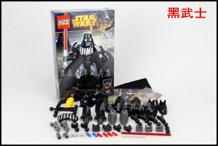 2016 new star wars Darth Vader XZS 512 20cm high Minifigure Building Block Toys Action Figure Compatible With Lego