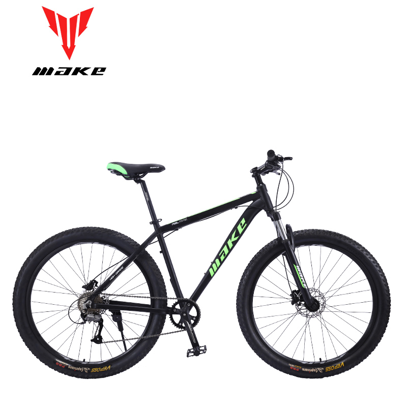 Mountain Bike MAKE 29*3.0 wheel  SHIMANo ALtus  9 Speed Disc Brakes Aluminum Frame title=