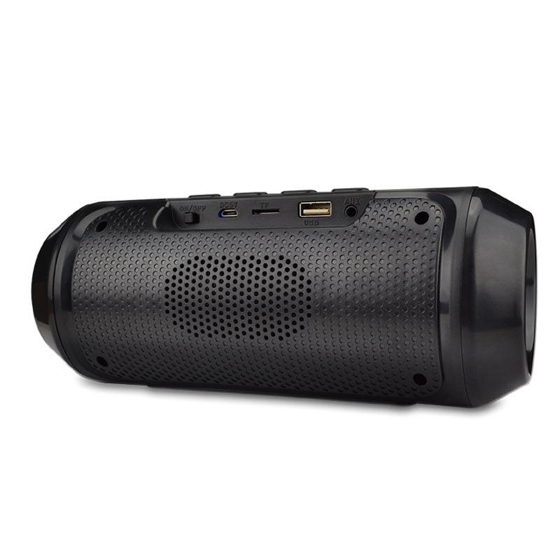 Unterhaltungselektronik Ausdrucksvoll Tragbare Bluetooth Lautsprecher Trommel Modell Mit Sieben-farbe Licht Lautsprecher Im Freien Multi-funktionale Bluetooth Lautsprecher Stereo Lautsprecher