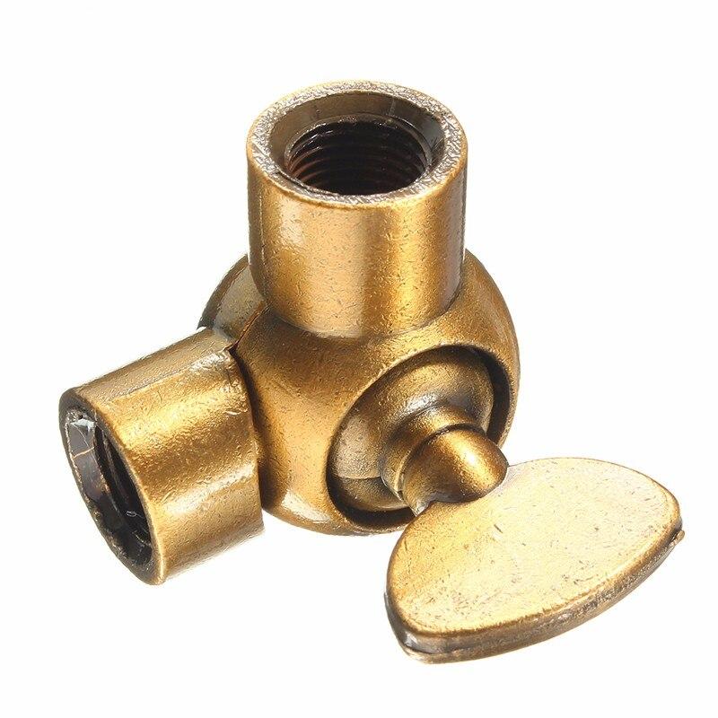 Vintage Retro Light Lamp Bulb Holder Socket Droplight Connector Zinc Alloy Material Gold Bronze/Green Bronze Lamp Bases