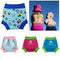 Qualidade Baby Boy Baby Girl Swim Fralda, Reutilizáveis Fralda Do Bebê Nadar Natação Do Bebê Azul Rosa
