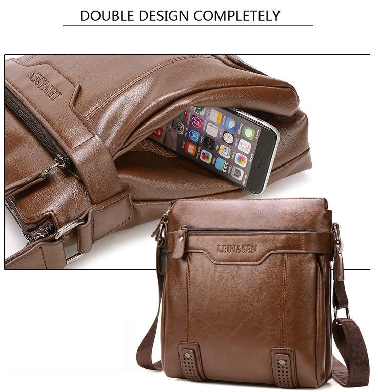 HTB1OoZQaJfvK1RjSspfq6zzXFXai men bag shoulder leather messenger bag men leather briefcase Antifreeze shoulder bags for men bussiness bag mens office bags
