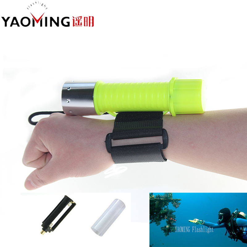 Diving Light CREE XM-L T6 10W Diving Flashlight 3800LM Underwater Led Dive Light Lamp Lanterna Scuba Flashlights By 18650 or AAA powerful led cree xm l l2 diving flashlight underwater lights lamp hunting scuba flashlights 26650 or 18650 rechargeable battery