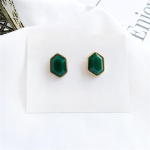 Womens fashion geometric earrings to womens jewelry summer style Women resin