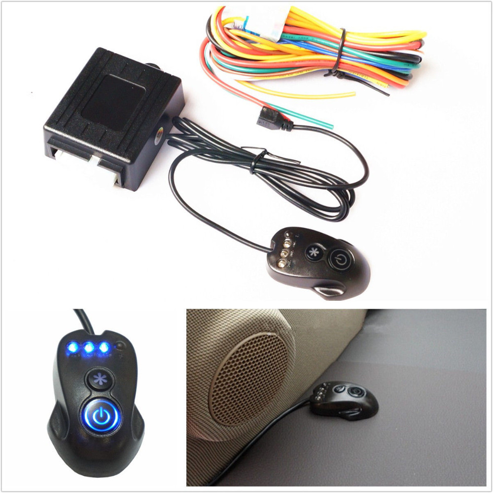 Car Automatic Headlamp Controller Sensor Automatic Switch On Car Lights Control System Intelligent for Light Induction Headlight vibration switch sensor module w dupont cable for intelligent car blue