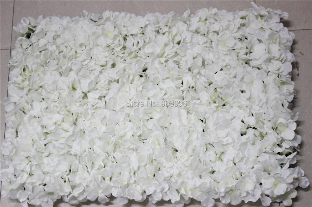 SPR geben Shipping-10pcs künstliche silk Hydrangeablumenwand das - Partyartikel und Dekoration