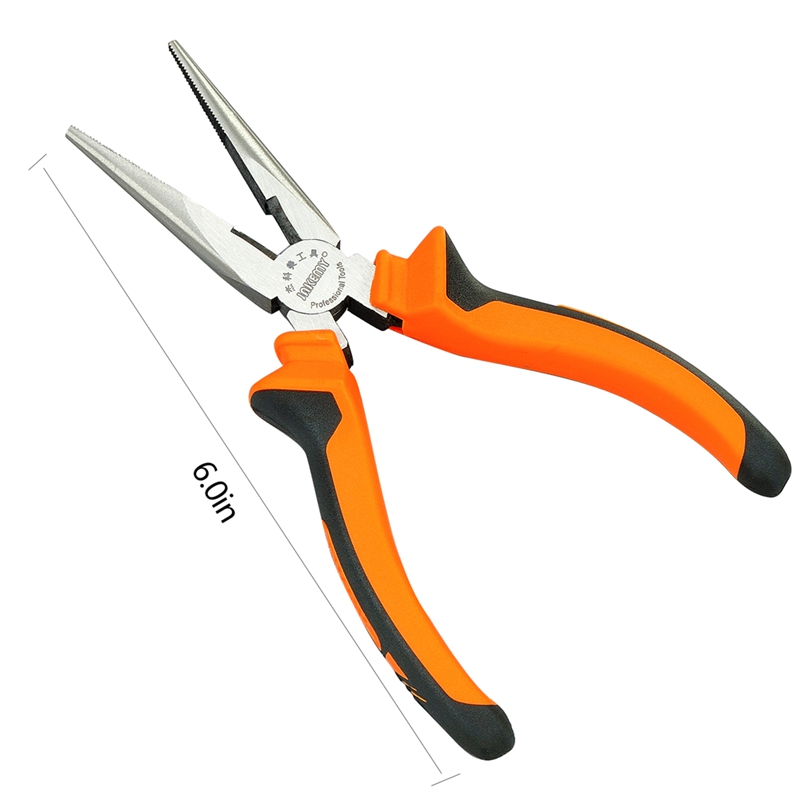 2017 New Tools Long Nose Pliers Hand Tool Chrome Vanadium Wire Stripper Tool Pliers Set Crimping Multi Tools For Cutting Pliers