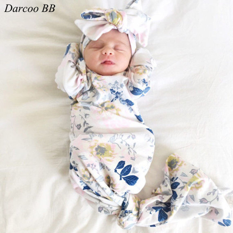Newborns Baby Little Girls Cute Floral Print Ste Sleeping - Newborn Bathing Suits 3 Months Girl