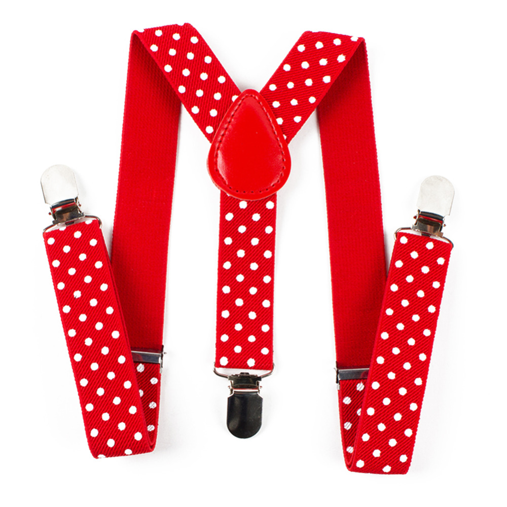 Mantieqingway Kids High Quality Suspenders 3 Clip Adjustable Striped Braces Elastic Fashion Suits Leisure Strap For Children