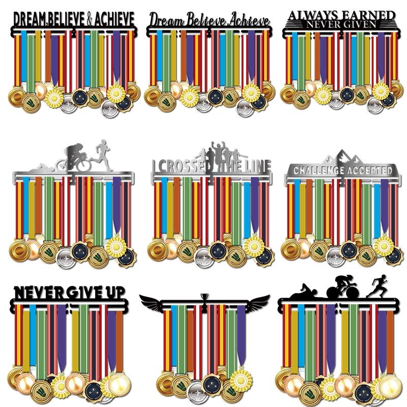 Medal Hanger//Holder//Display//Rack//Hook *DREAM BELIEVE ACHIEVE* store 36 medals