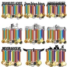 Support à médailles en métal inspiré, présentoir à médailles de Sport, contenant plus de 36 médailles